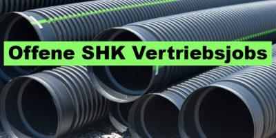 SHK Vertriebsjob - jetzt bewerben