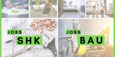 SHK und Bau Jobs